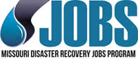 Disaster Recovery Jobs Program logo