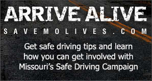 Arrive Alive - Get safe driving tips and learn how you can get involved with Missouri's safe driving campaign