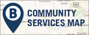 Community Services Map