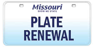 Register for new Missouri license plates online