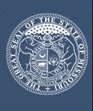 blue state seal of missouri