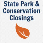 State Park and Conservation Closings